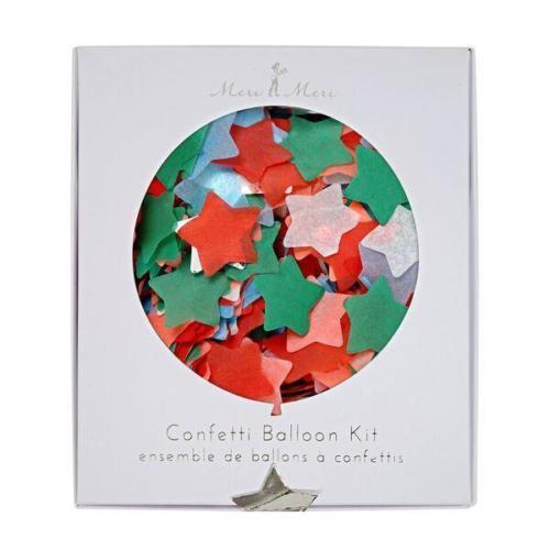 Χριστουγεννιάτικο Confetti Αστέρια Meri Meri 45-2358 (8 Τεμάχια)_512044