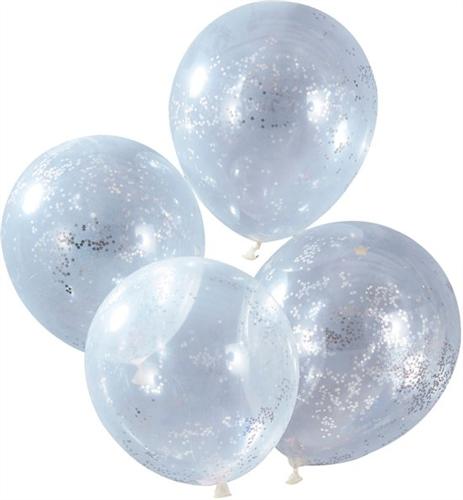 Confetti Silver (5 Τεμάχια) Ginger Ray _516093