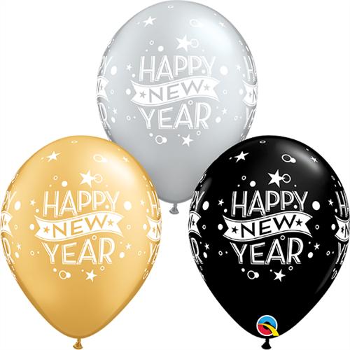 Large New Year Qualatex (25 τεμάχια)514905